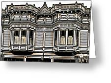 Victorian Architecture Details Greeting Card