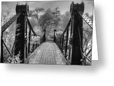 Victorian Bridge Greeting Card