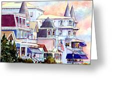 Victorian Cape May New Jersey Greeting Card