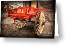 Victorian Cart Greeting Card by Adrian Evans