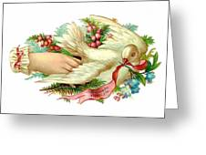 Victorian Dove Greeting Card