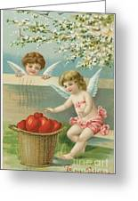Victorian Era Valentine Card Greeting Card