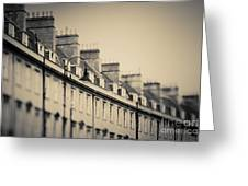 Victorian Houses In England Greeting Card