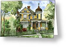 Victorian In The Avenues Greeting Card