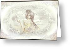 Victorian Princess Altiana Greeting Card