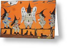 Victoria's Secret Witches Greeting Card