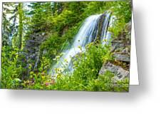 Vidae Falls, Oregon Greeting Card