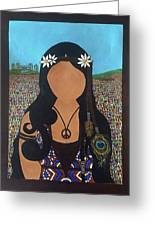 Vidas Pasadas, Woodstock 1969 Greeting Card