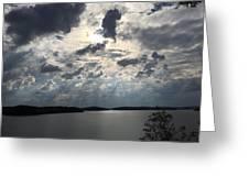 View Across Wappapello Lake IIi Greeting Card