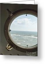 View At Sea II Greeting Card