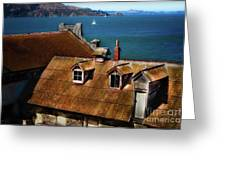 View From Alcatraz Greeting Card