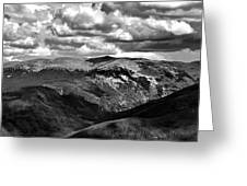View From Atop Winter Park Mountain 3 Greeting Card