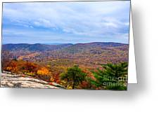 View From Bear Mountain Greeting Card