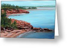 View From Cape Bear Greeting Card