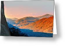 View From Chimney Rock-north Carolina Greeting Card