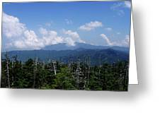 View From Clingman's Dome Greeting Card