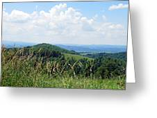 View From Copper Ridge Greeting Card