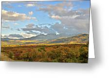 View From Dallas Divide Greeting Card