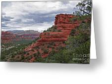 View From Doe Mountain Trail Greeting Card