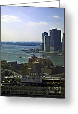 View From Dumbo Greeting Card