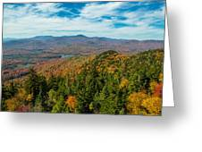 View From Goodnow Greeting Card