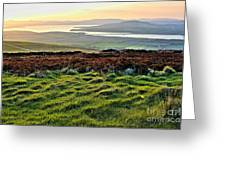 View From Grianan Fort Greeting Card