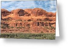 View From Highway 128, Utah Greeting Card