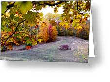 View From Inside Greeting Card