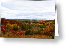 View From Kidder Road Greeting Card