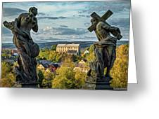View From Kuks Hospital - Czechia Greeting Card