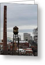 View From Libby Hill Greeting Card