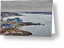 View From Marblehead Lighthouse Greeting Card