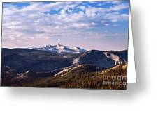 View From May Lake Greeting Card
