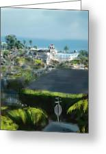 View From My Studio Greeting Card by Russell Pierce