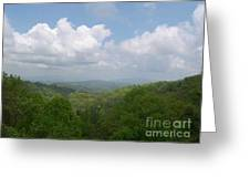 View From Ober Gatlinburg Greeting Card