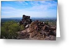 View From Piestewa Peak Greeting Card