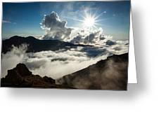 View From Ptarmigan Peak Greeting Card