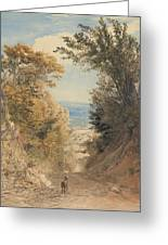View From Rook's Hill, Kent Greeting Card