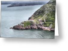 View From Signal Hill Greeting Card