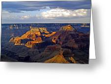 View From South Rim Greeting Card