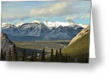 View From Sulpher Mountain Greeting Card