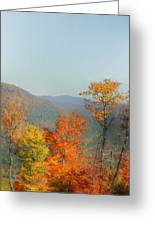 View From Sunday River Greeting Card