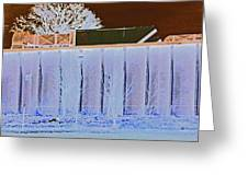View From The Bank 4 Greeting Card