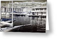 View From The Bow Greeting Card