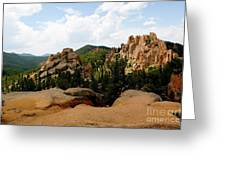View From The Crags Greeting Card
