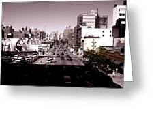 View From The Highline Greeting Card
