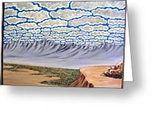 View From The Mesa Greeting Card
