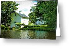 View From The Mill Pond Centerbrook Ct Greeting Card