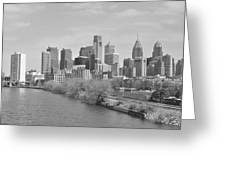 View From The New S.st. Bridge Greeting Card by Brynn Ditsche