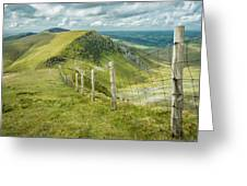 View From The Rangers Path Greeting Card by Nick Bywater